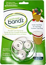 Garbage Bandz Reusable Elastic Rubber Bands For Trash Cans, 1-Pack (3 Pieces)