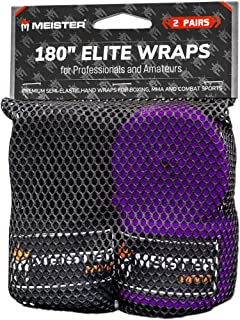 Meister Elite - Vendas de Mano para Adultos de 180 Pulgadas