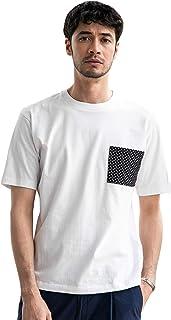 [グリーンレーベルリラクシング] 【WEB限定】 ★★SC ドライ コンビ ポケット クルー Tシャツ <機能性生地/吸水速乾> ? 32171994660 メンズ