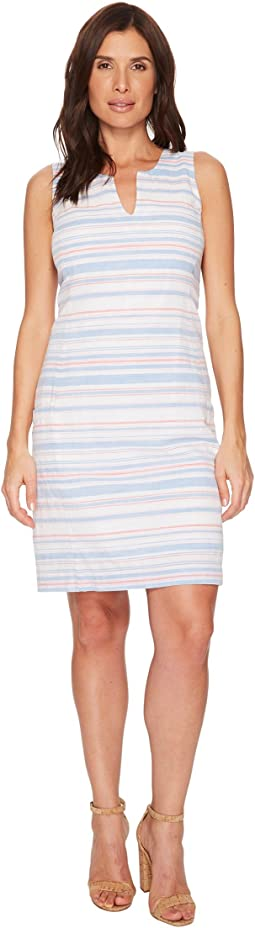 Elayna Notch Neck Shift Dress
