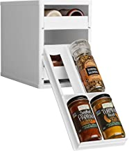 YouCopia 01121-01-WHT 12-Bottle Medicine Cabinets and Organizers, Plastic, White, W 5.8 x H 8.6 x L 10.9 inch
