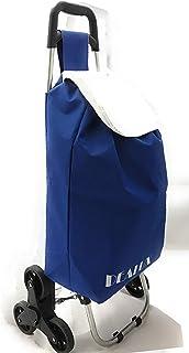 dealux Carrello Shoppy 2.0 Tris Blu Ruote