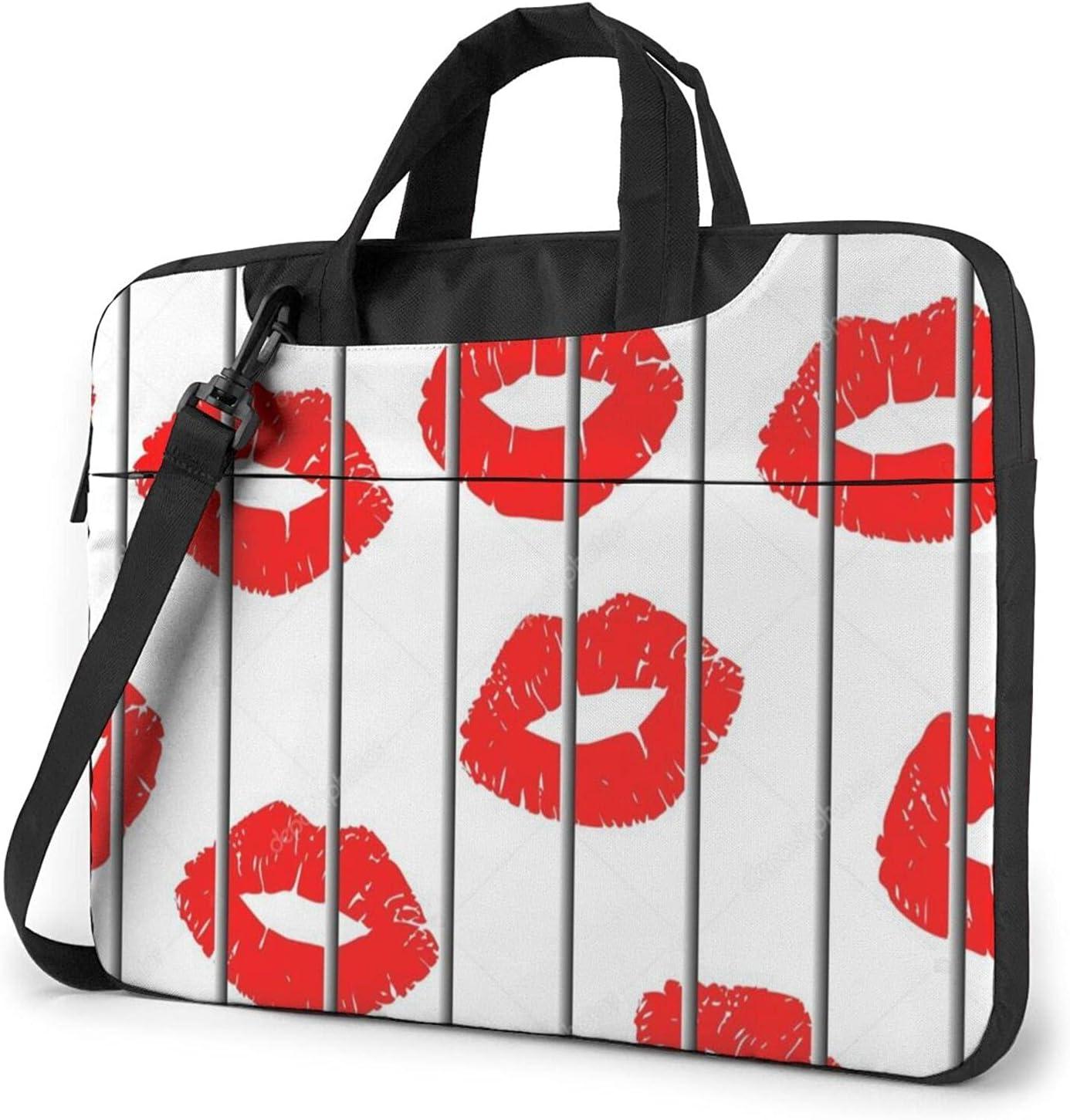 Red Lips 2021 new Store Classic Slim Briefcase Bag Crossbody Design Shoulder f
