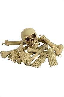 Halloween! Smiffys botstapel en schedel