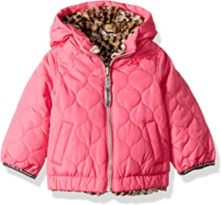 Baby Girls Reversible Quilted Midweight Jacket