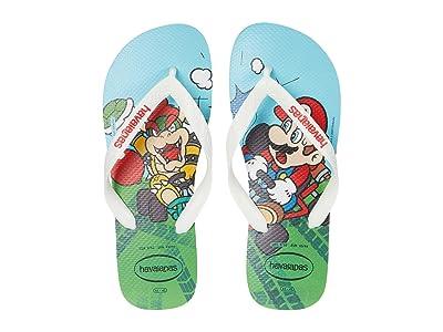 Havaianas Mario Bros Flip-Flops (White/White) Men