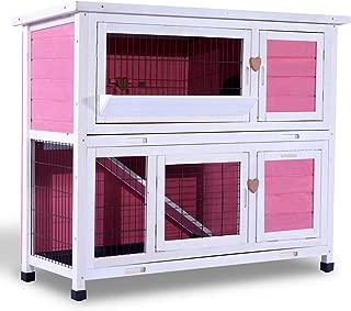 single story guinea pig hutch