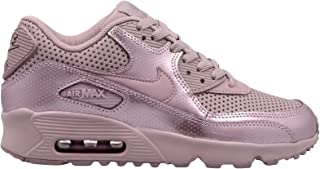 Nike Youth Air Max 90 SE LTR GS Leather Elemental Rose Trainers 6.5 US