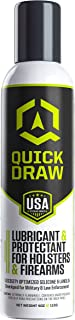Quick Draw Holster Lubricant & Protectant | Longer Holster Lift | Kydex, Leather, Plastic | Aerosol Spray