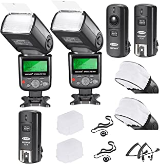 Neewer PRO i-TTL FlashDeluxe Kit for NIKON DSLR D7100 D7000 D5300 D5200 D5100 D5000