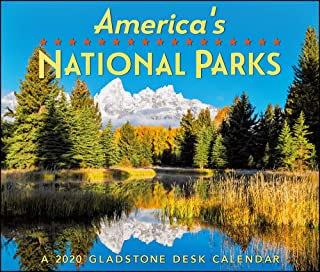 national parks desk calendar