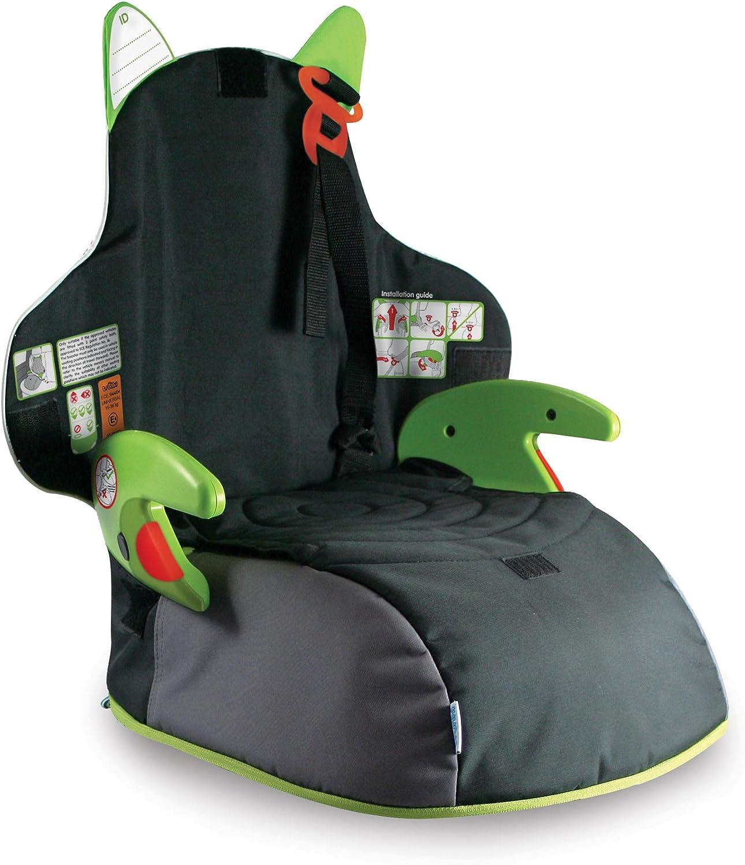 Trunki BoostApak Kinderrucksack mit integriertem Kindersitz Gruppe 2 3 (grün)