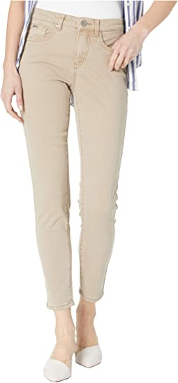 Solid Cool Twill Olivia Slim Ankle in Jute