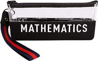 筆箱 ペンケース 大容量 筆入れ 鉛筆バッグ ファスナー式 英字 文具ケース きれい シンプル 丈夫 入学祝い 贈り物 誕生日プレゼント 色鉛筆 小物 文房