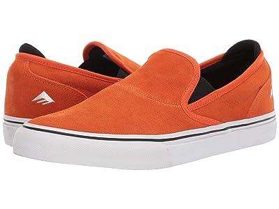 Emerica Wino G6 Slip-On X Bronson (Orange) Men