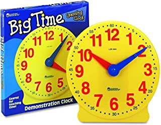 Learning Resources LER2094 Big Time Learning Clock (12 Hr) 13-1/4 in