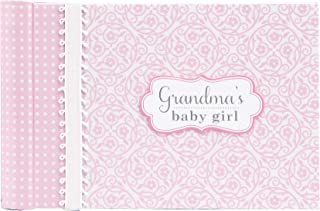 C.R. Gibson Pink 'Grandma's Baby Girl' Photobook for Grandparents, 20 pgs, 4.5'' H x 7'' L