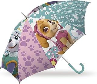 Kids Licensing 864355 - Paraguas Clásico Paw Patrol Skye,