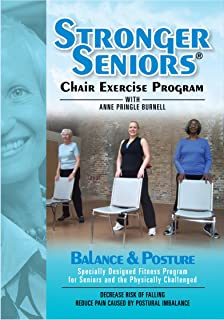 Stronger Seniors Balance and Posture DVD - Improve your Balance, Posture, and Stability in this NEW chair exercise program...