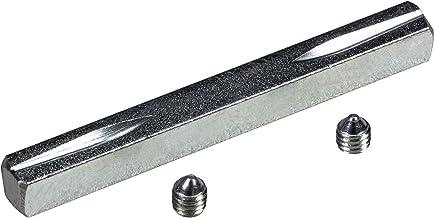 JUVA krukstift ijzer-vierkantstift 8 mm voor krukgarnituren en deurgrepen - H10261 | vierkant 8 x 80 mm | kruk-vierkant va...