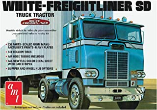 AMT AMT1004 1:25 Freightliner Single Drive Tractor, White