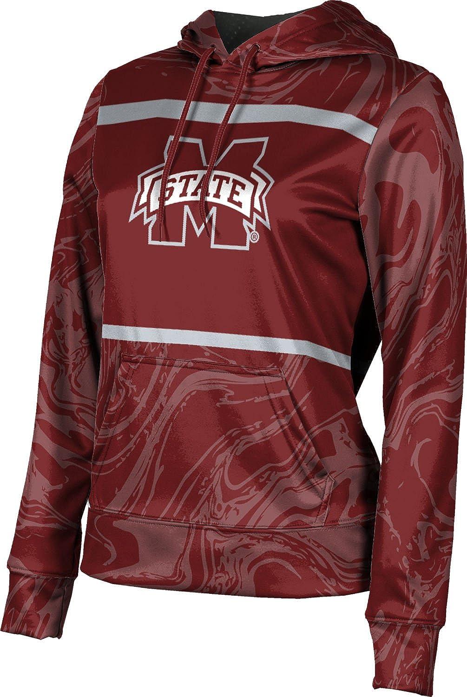 ProSphere Mississippi State University Girls' Pullover Hoodie, School Spirit Sweatshirt (Ripple)