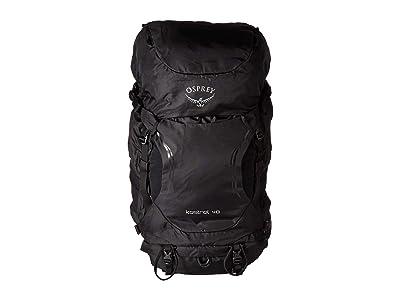 Osprey Kestrel 48 (Black) Backpack Bags