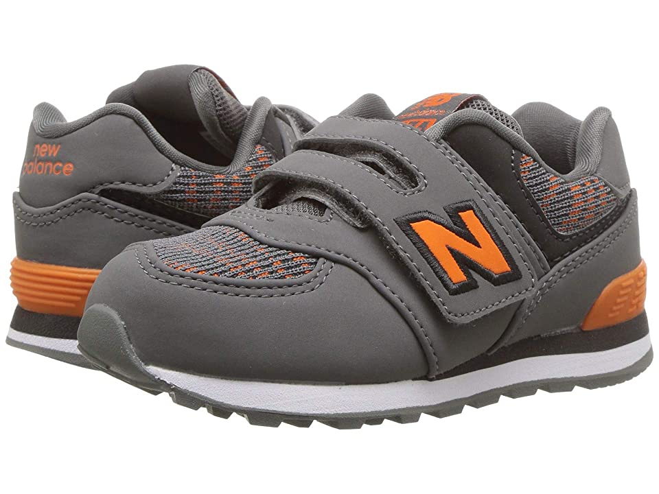 New Balance Kids IV574v1 (Infant/Toddler) (Castlerock/Bengal Tiger) Boys Shoes