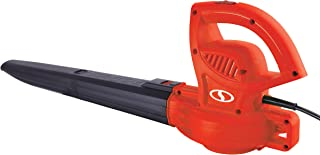 Sun Joe SBJ597E-RED 6-Amp 155 MPH Electric Leaf Blower, Red