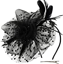 gothic fascinators headpieces