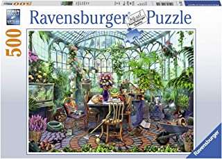 Ravensburger Greenhouse Morning 14832 500 Piece Puzzle for Adults, Every Piece is Unique, Softclick Technology Means Pieces Fit Together Perfectly