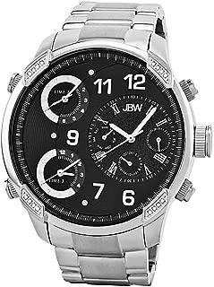 JBW Mens Quartz Watch, Analog Display and Stainless Steel Strap