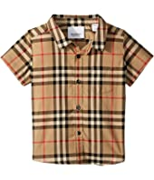 Burberry Kids - Fredrick Short Sleeve Pocket Shirt (Infant/Toddler)