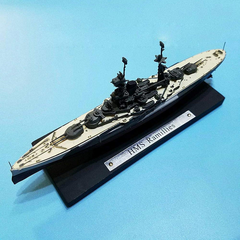 WWII British HMS Ramillies 1 1250 diecast Model Ship
