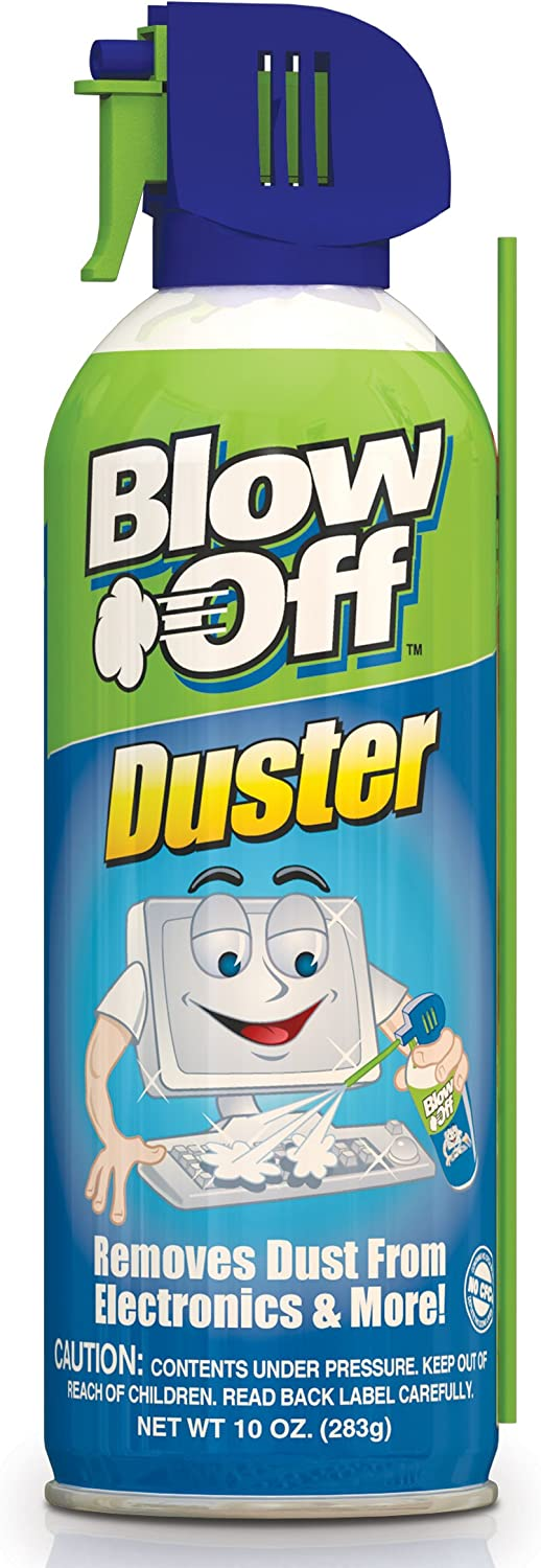 Blow Off Air Al sold out. Duster Can with Nozzle 10 Blue Green - Popular brand in the world oz 9962
