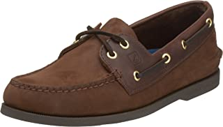 Sperry Top-Sider Authentic Original Leather Boat Shoe Men 9.5 Brown Buck