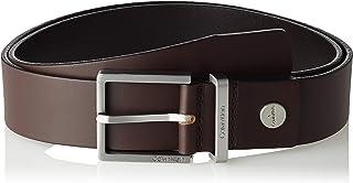Calvin Klein Men's Casual Adj 3.5 cm Belt, Brown (Turkish Coffee 201), 85