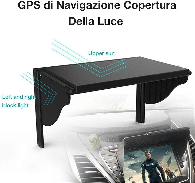 viseras solares 5.5-10 pulgadas Coche GPS Cubierta de sombrilla GPS Pantalla de GPS Sombra Sombra Hoja de visor Coche Central Dashboard GPS Navegación Navegador Navegador Navegador Navegador Navegador