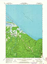 YellowMaps Odanah WI topo map, 1:62500 Scale, 15 X 15 Minute, Historical, 1964, Updated 1966, 21.08 x 15.51 in