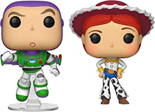 Funko Pop! Disney: Toy Story 4 - Buzz and Jessie Collectible Figures Set of 2 - in Bubble Pouch