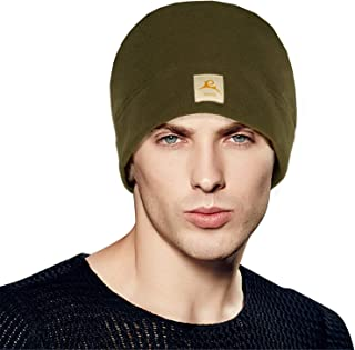 SPRING SEAON 2 Pieces Winter Fleece Hat Beanie for Men Women Warm Skull Cap for Skiing Outdoor Sports