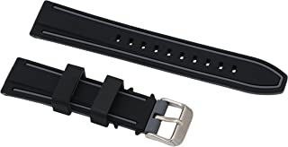 Superior Silicone Straps for Dive Watches Rubber Smart Watch Wristbands in Two Tone