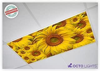 Flower 001 2x4 Flexible Fluorescent Light Cover