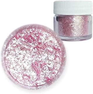 Soft Pink Tinker Dust Edible Glitter 5g Jar | Bakell Food Grade Gourmet Dessert, Foods, Drink Garnish | Pearlized Shimmer Sparkle Sprinkle