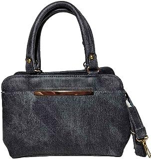 حقيبة للنساء-رصاصي موشح - حقائب الكتف