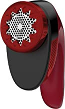 Rowenta 1830007122 Portable Lint Remover Shaver with Adjustable Shave Height Fabric Defuzzer, Travel-Sized, Red