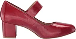 Red Tumbled Patent