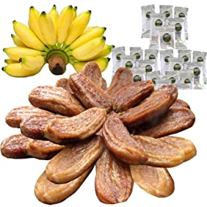 100% USDA Certified Organic Sun Dried Bananas - 21 oz Value Pack - Dried Fruit Individual Packs - Soft and Chewy - No Sugar Added, No Preservatives