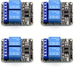 Sponsored Ad - CenryKay 4PCS 2 Channel Relay Module with Optocoupler 5V Active Low Level Amplifier Trigger JD-VCC Relay Po...