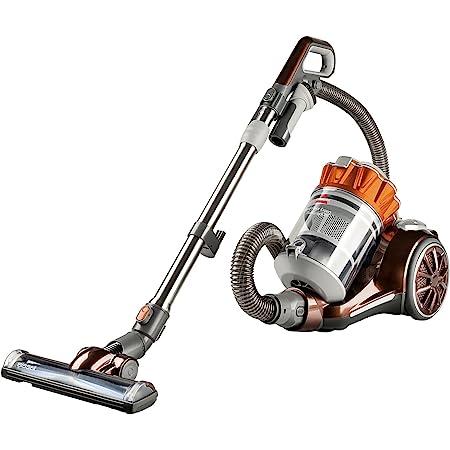 Bissell HARD FLOOR EXPERT MULTI CYCLONIC canister vacuum, Burnt Orange
